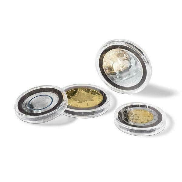 Pack of 10 Ultra Intercept Coin Capsules with Inserts
